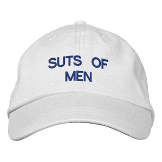 SUTS do chapéu ajustável dos HOMENS Boné Bordado