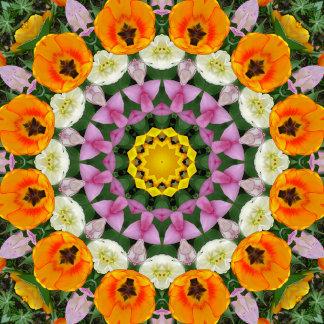 _ Tulips, Nature-Mandalas
