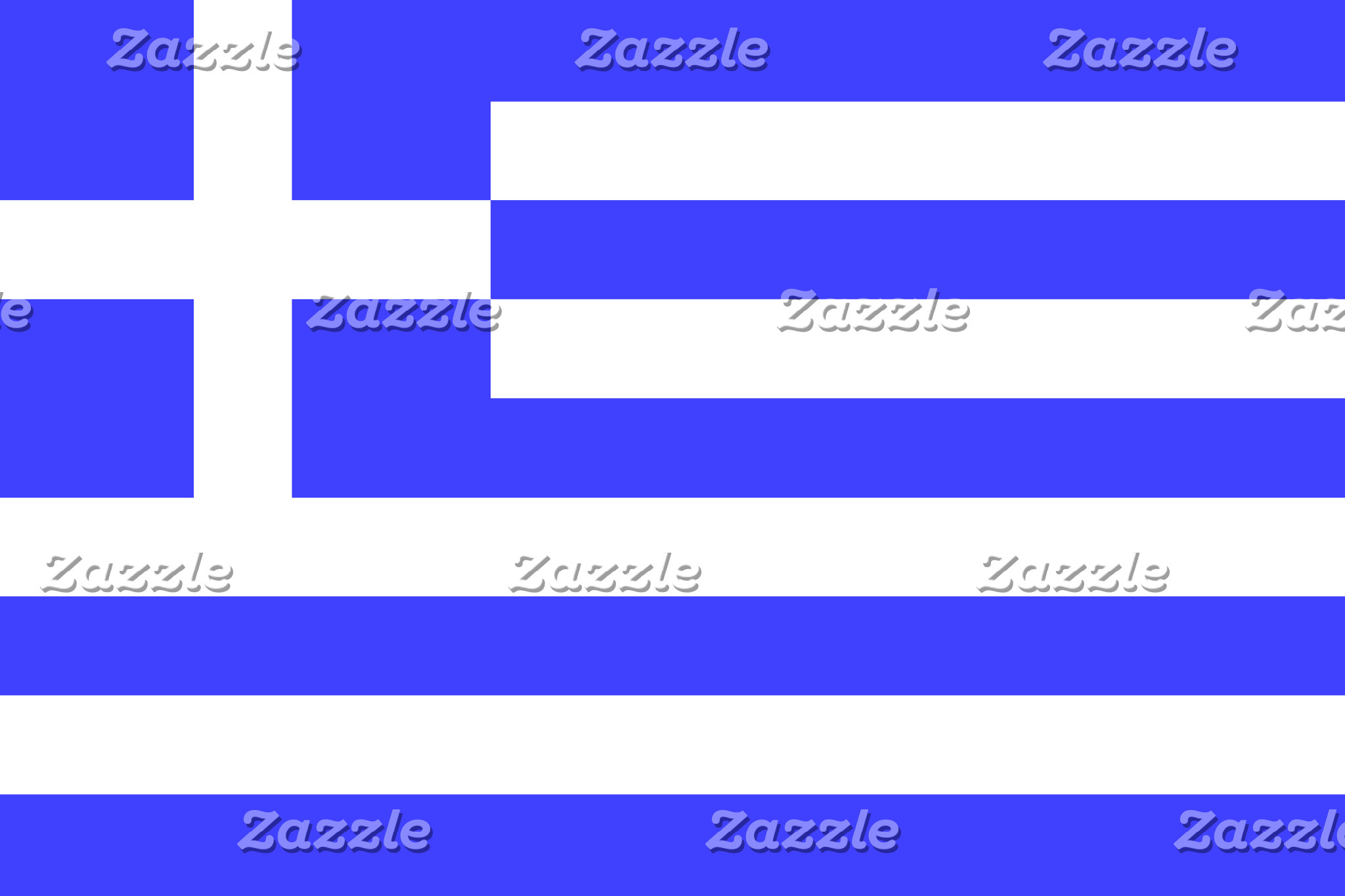 Greek Flag on Stuff