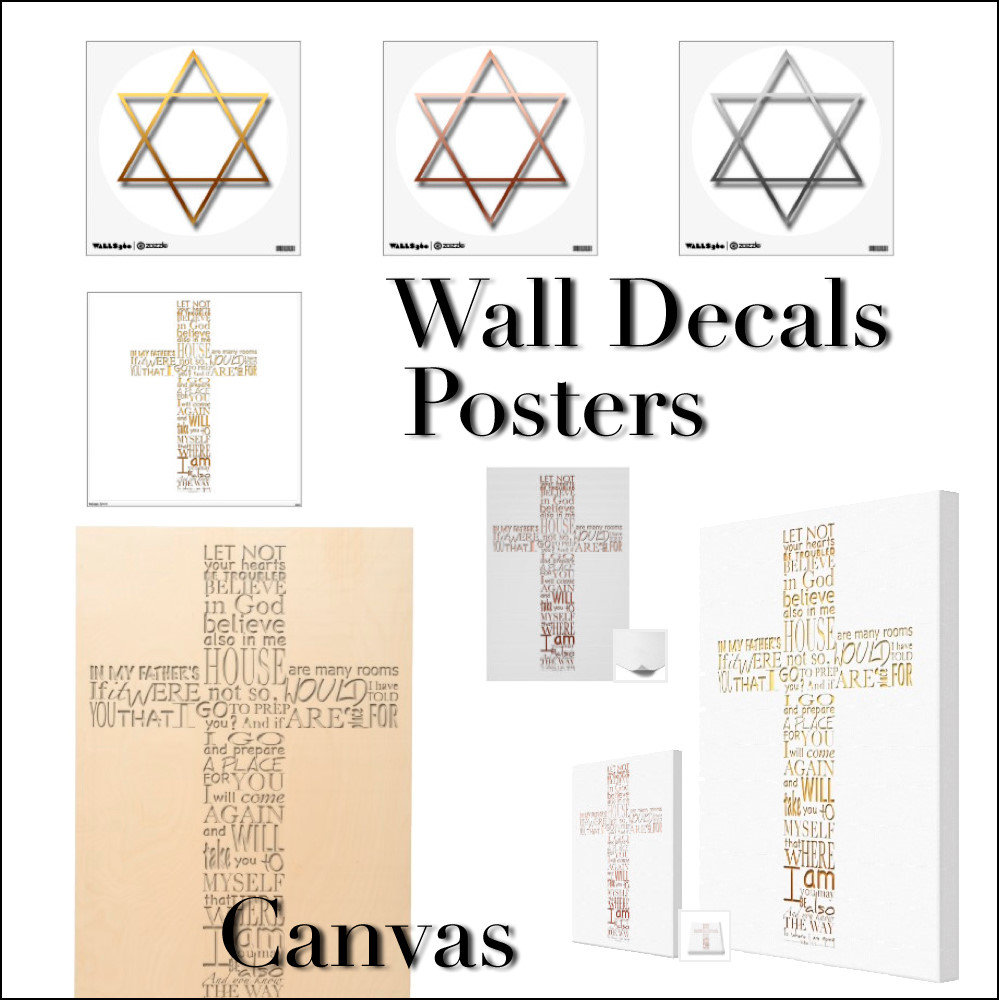 Religious Wall Decals Posters Canvas