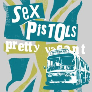 Sex Pistols Nowhere Bus with Flag