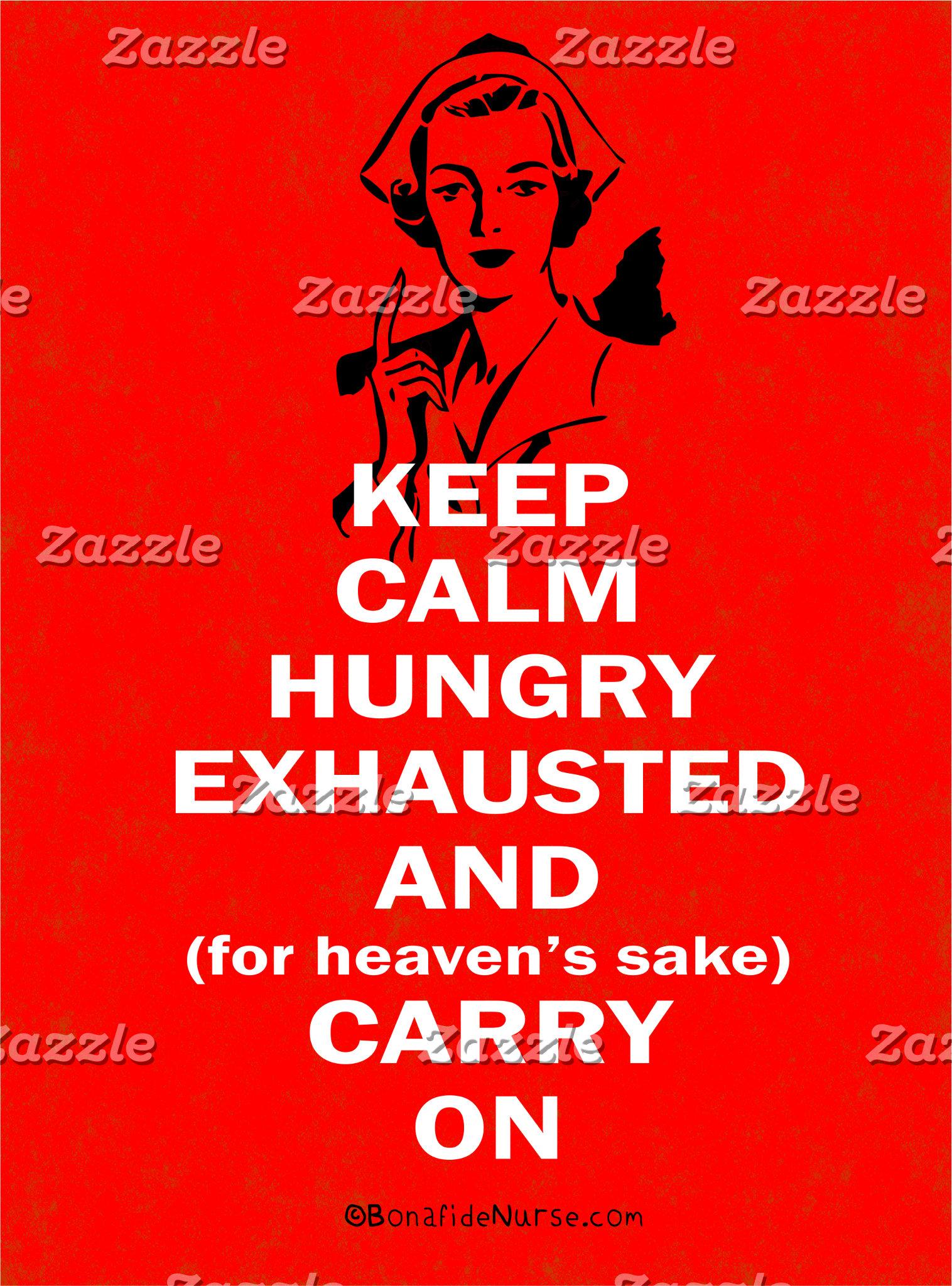 Nurse - Keep Calm and Carry On