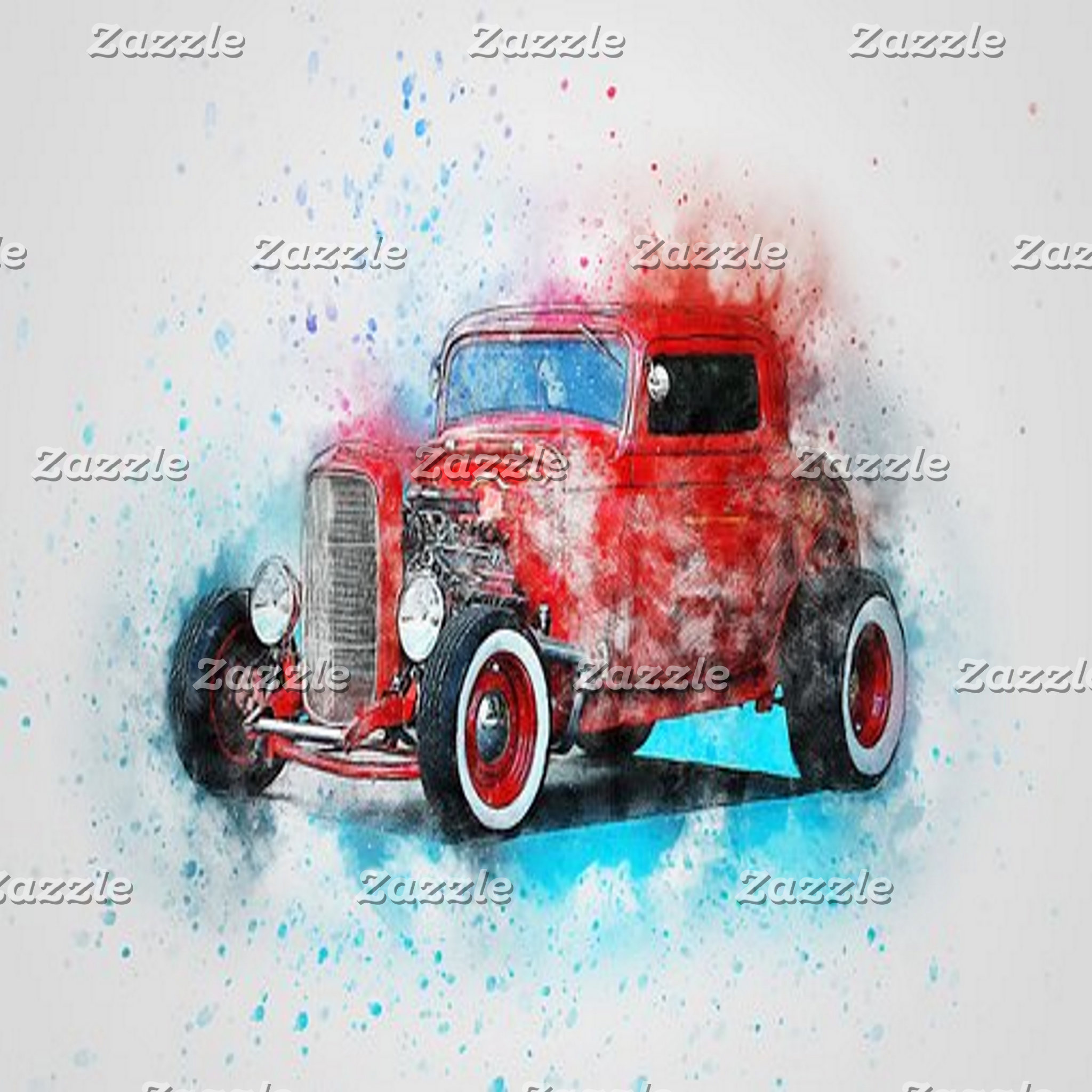 Abstract Art - Old/Vintage Vehicles