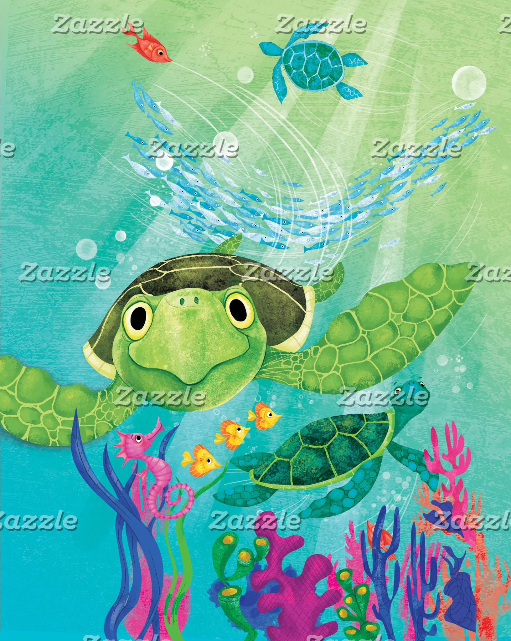 A Sea Turtle Rescue