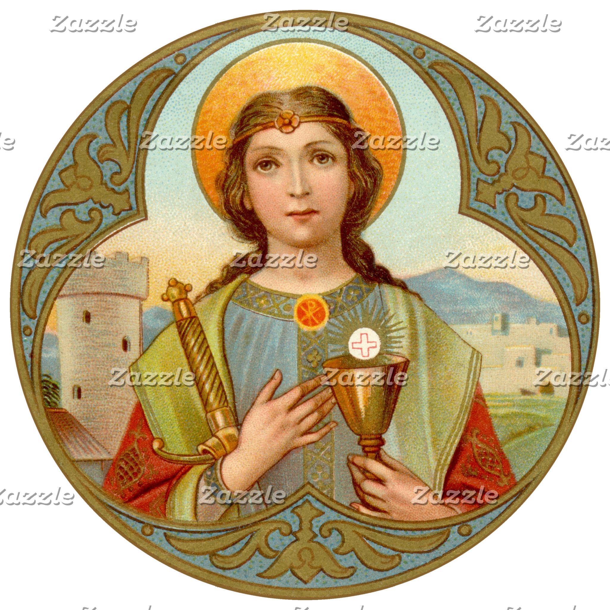 Barbara (BK 001), Saint