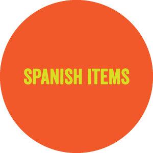 Spanish Items