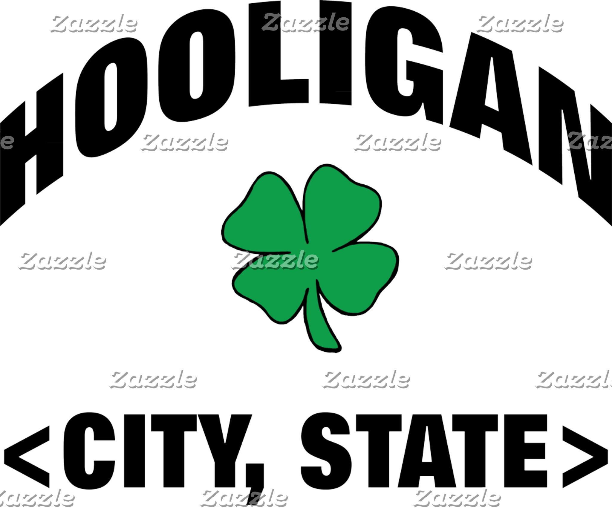 A Personalized Irish Hooligan T-Shirt or Gift