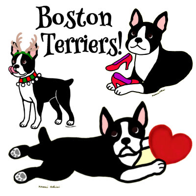 Boston Terrier Designs
