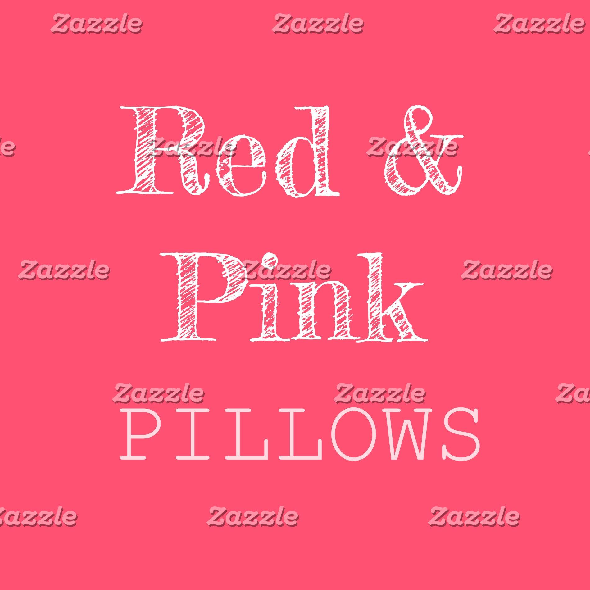 Red & Pink Pillows