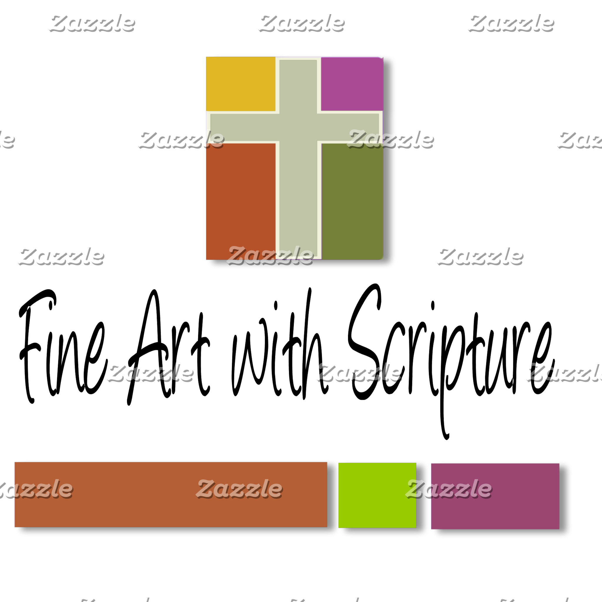 FINE ART with Scripture Verses Added
