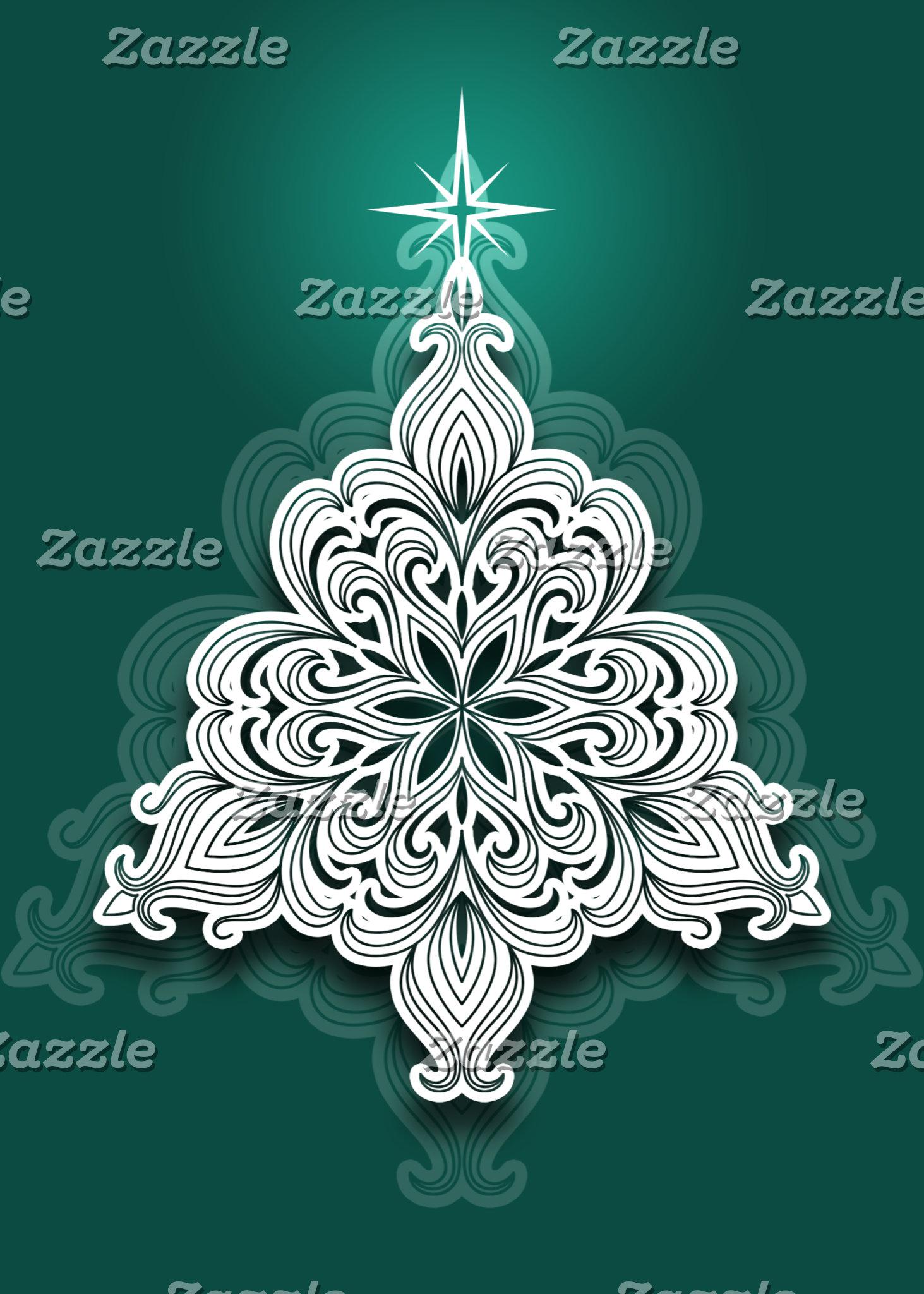 Lacy Christmas Tree