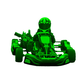 Kart Racer in Green