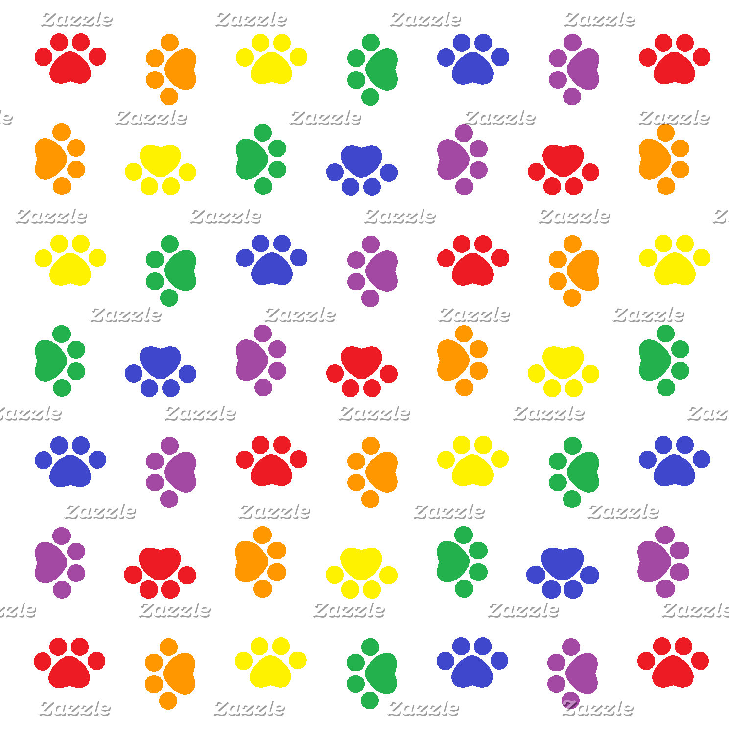 Paw Print Patterns