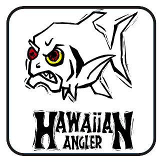Hawaiian Angler Angry Fish