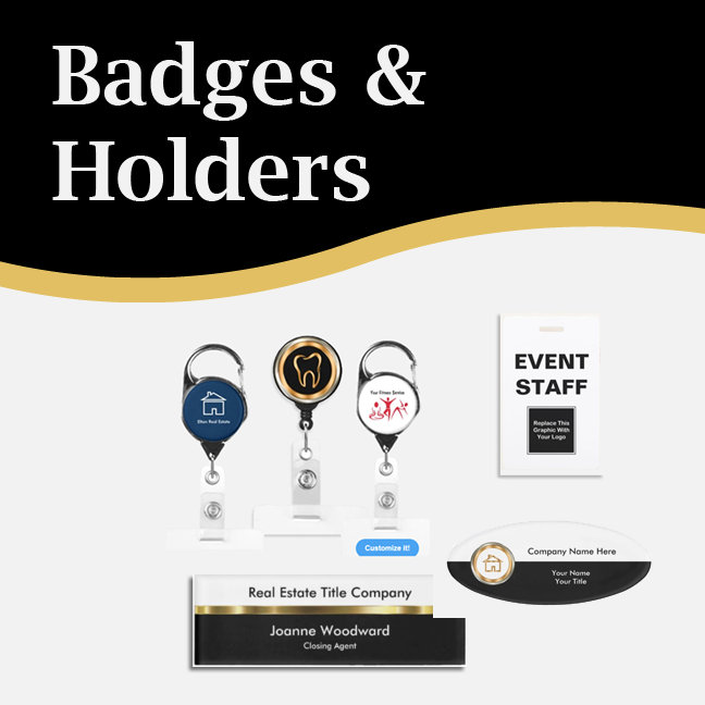 Business Badge Holders