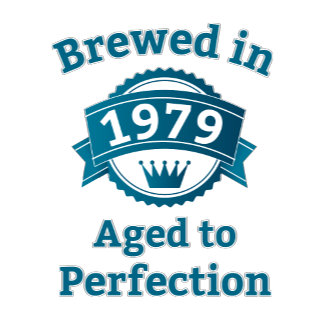 Brewed in year, aged to perfection