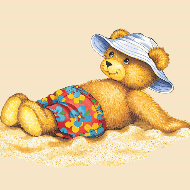 Corduroy At The Beach
