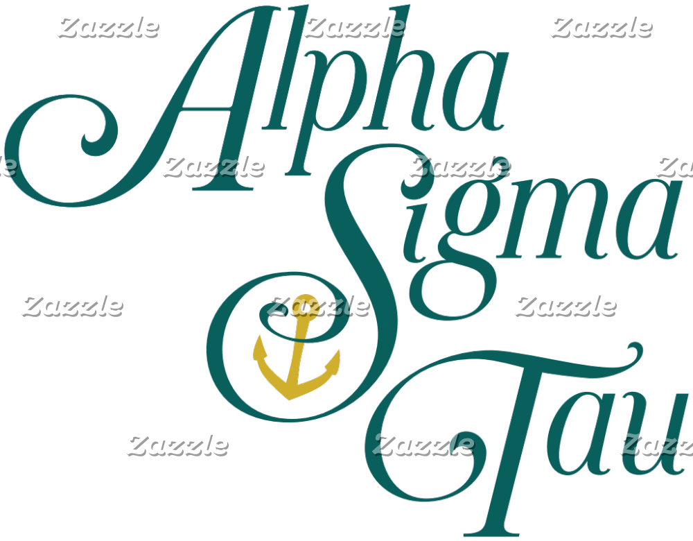 Alpha Sigma Tau Vertical Mark