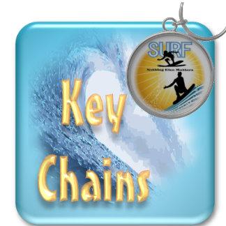 Surfboard Keychains