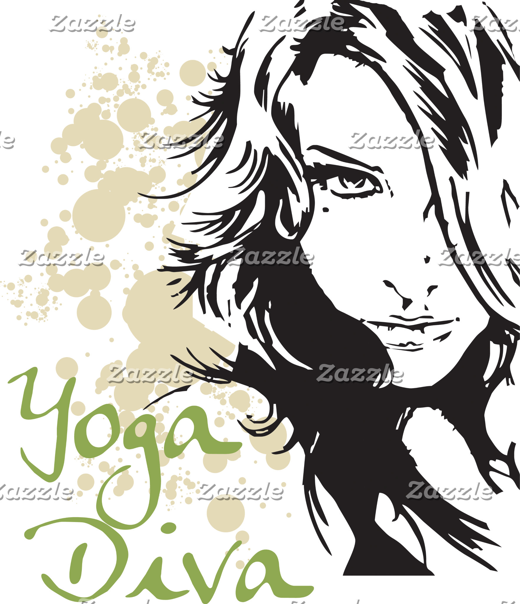 Beautiful Yoga Diva T-Shirt