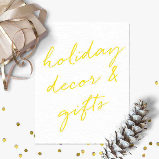 Holiday Decor & Gifts