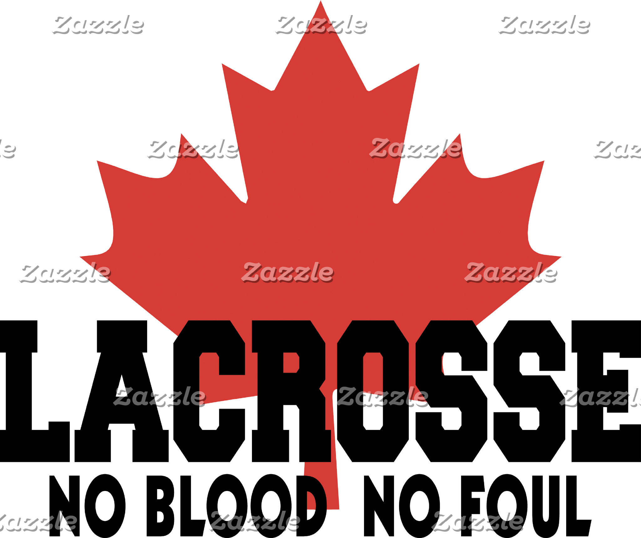 Canada Lacrosse Canadian Lacrosse T-Shirt Gift