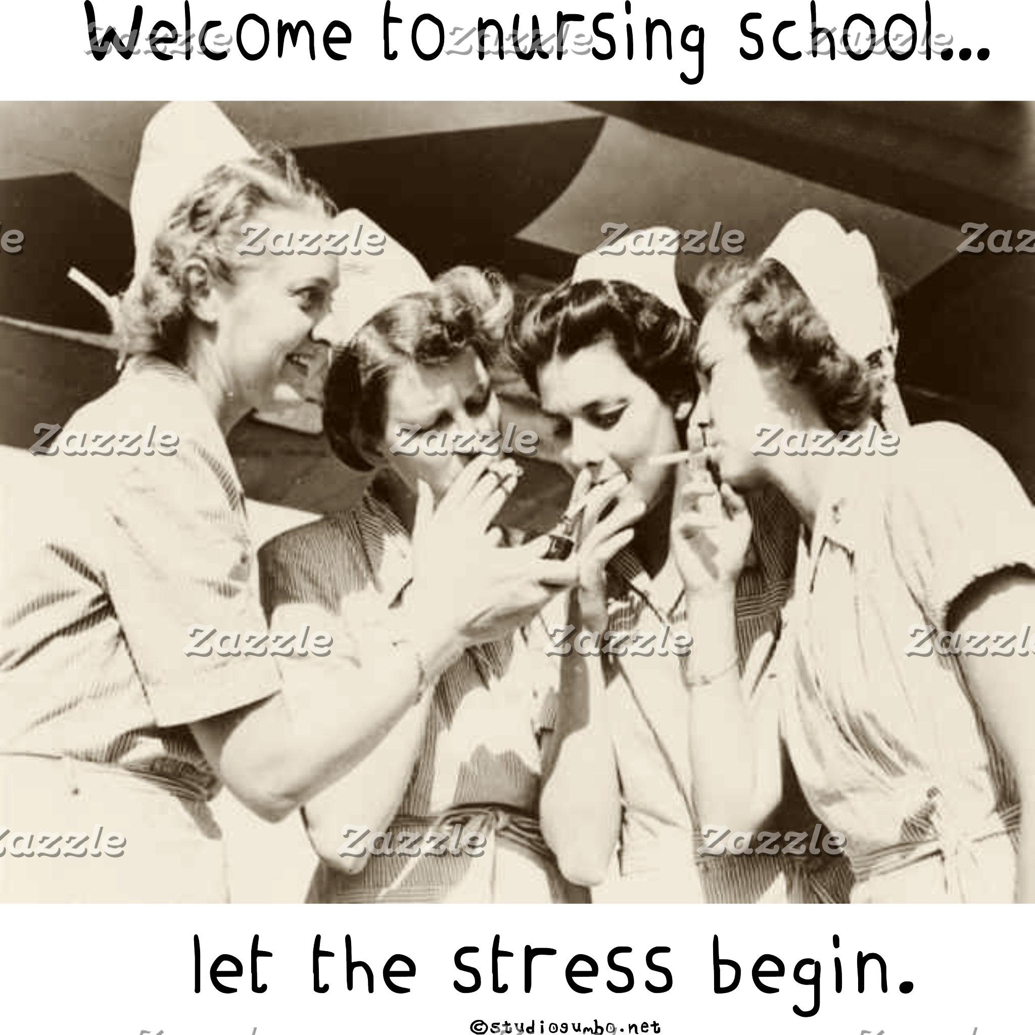 Nursing School - Let the Stress Begin
