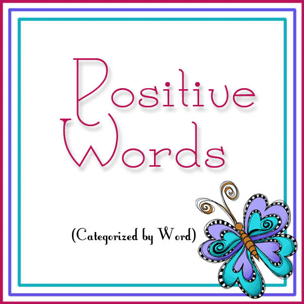 Positive Words - By Word