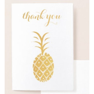 Party Guests Thank You Cards