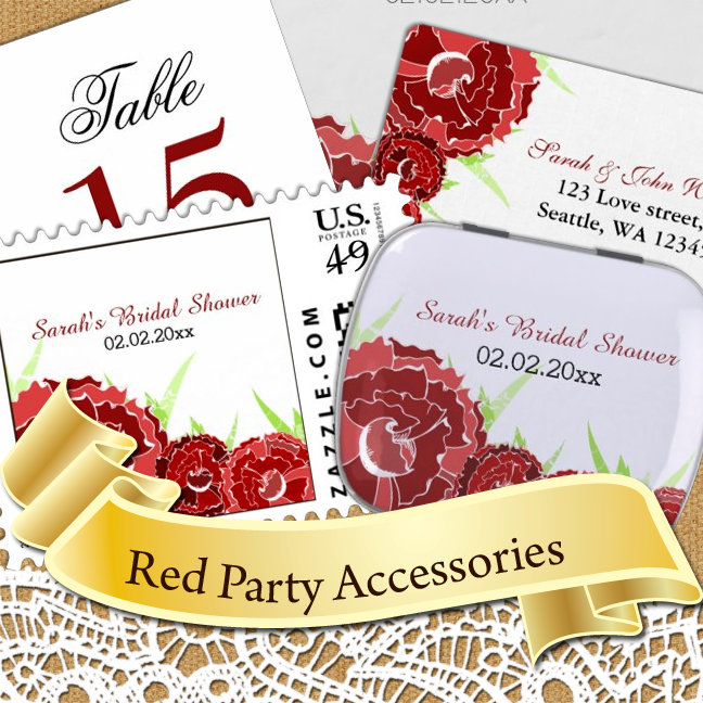 Red Theme Party