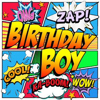 Birthday Boy Comic Book