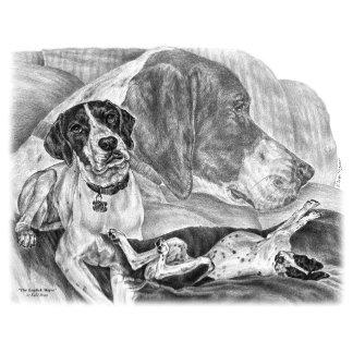 English Pointer Dog Art