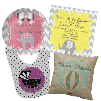 Baby Shower Gifts and Party Supplies