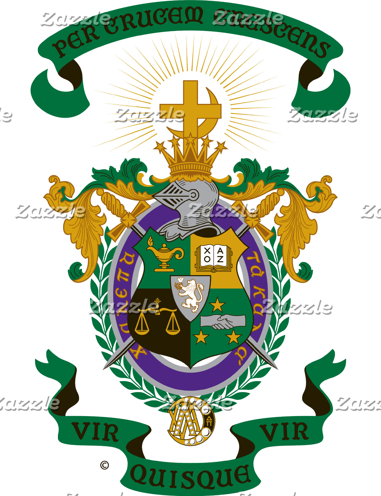 LCA Coat of Arms Color