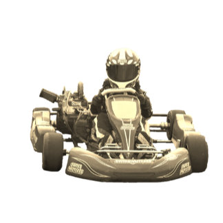 Kart Racer Antiqued