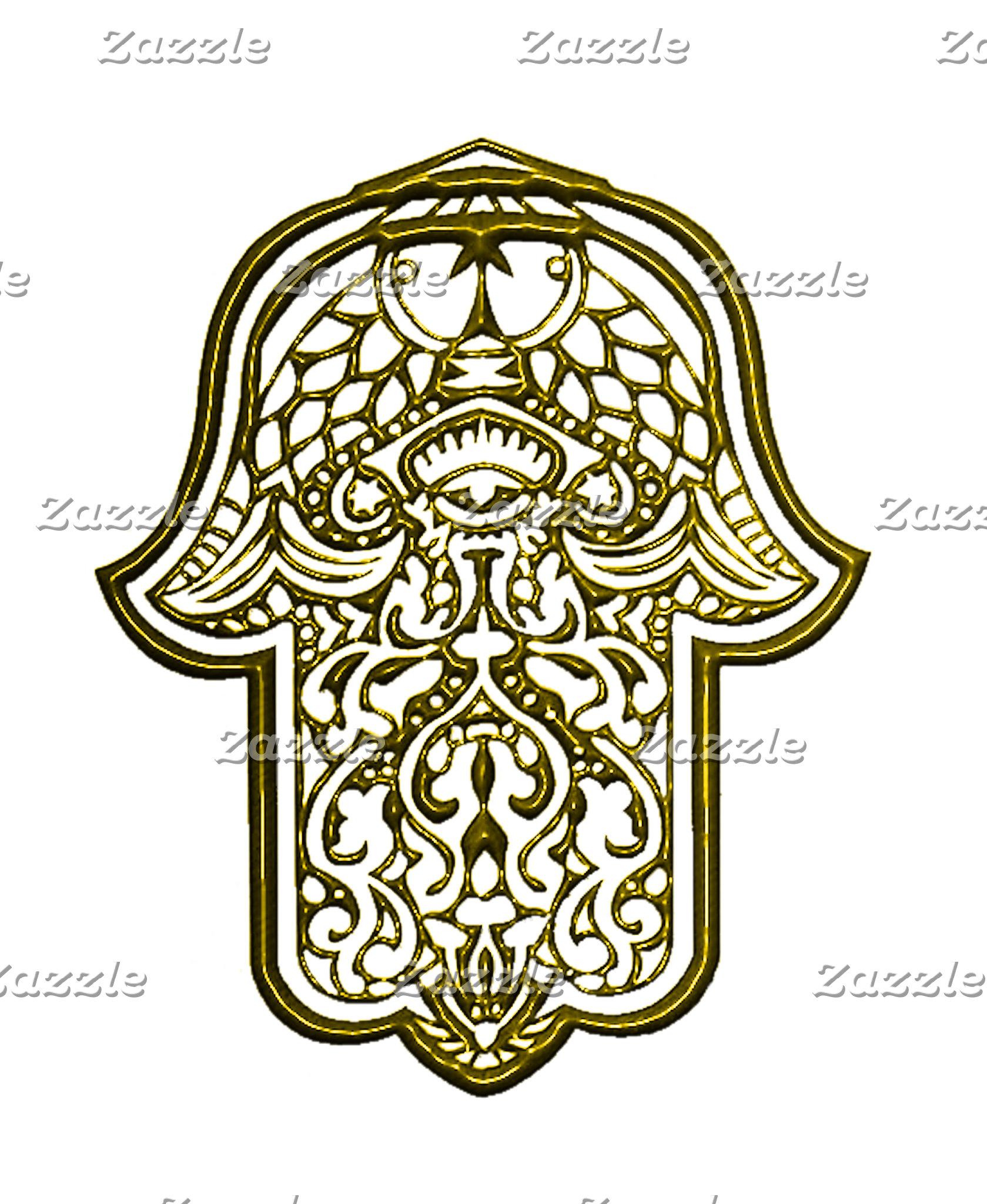 Henna Hand of Hamsa 9 Colours!