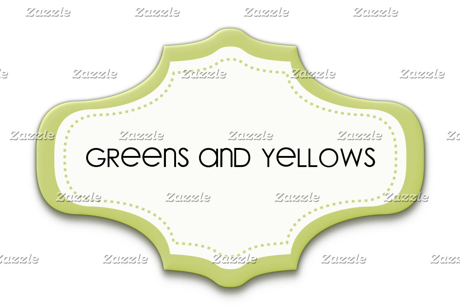 Greens and Yellows