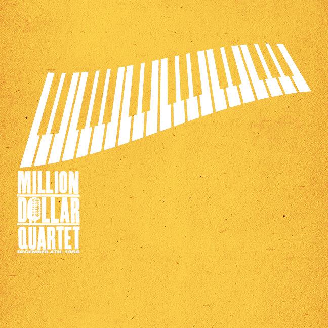 Million Dollar Quartet Piano - White