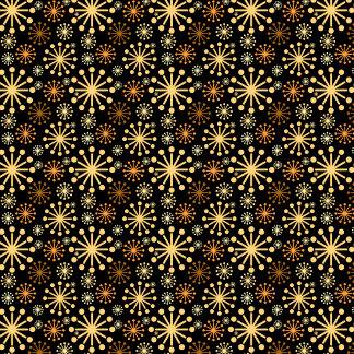 ❄ Snowflakes ❄ Golden Dark