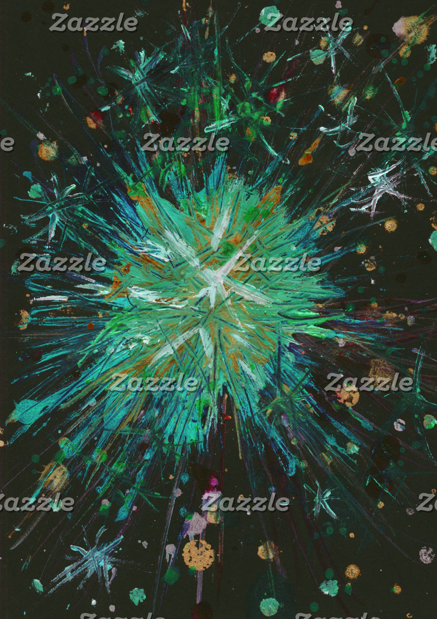 Star Abstract Art Paintings