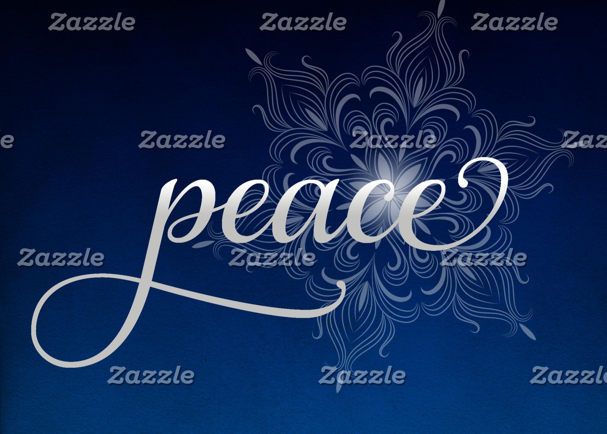 Peace Snowflake