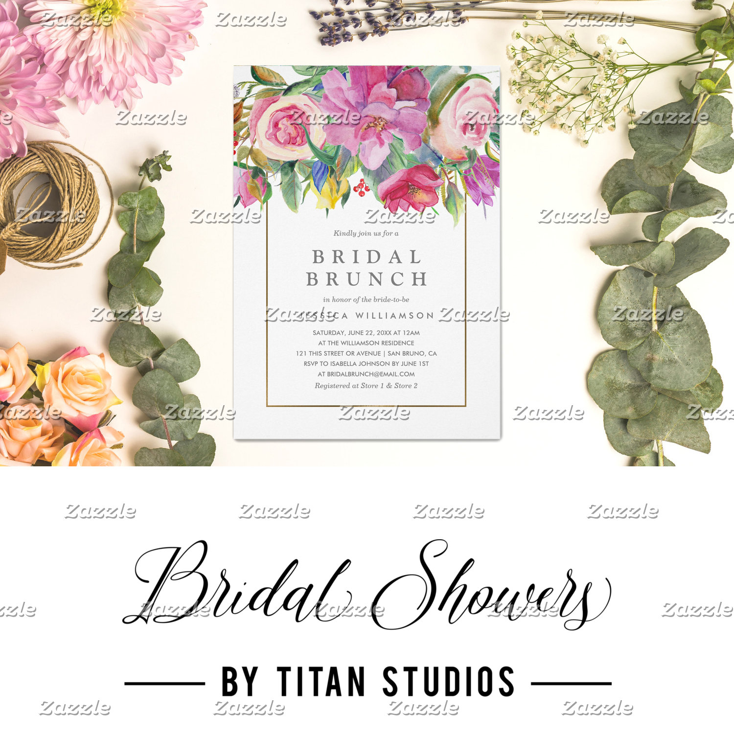 Bridal Showers by Titan Studios