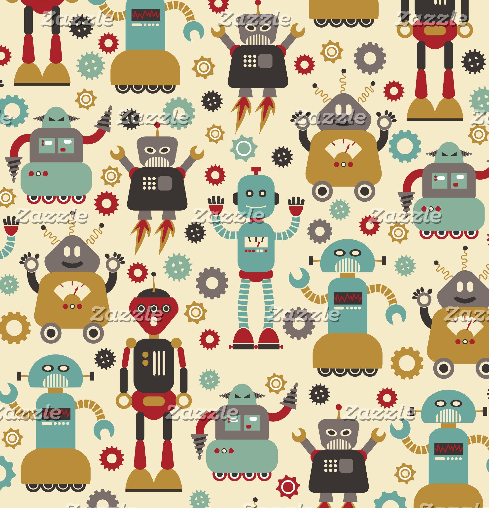 Retro Robots
