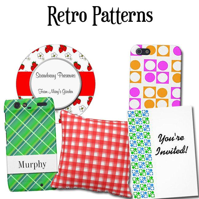 Retro Plaids and Patterns