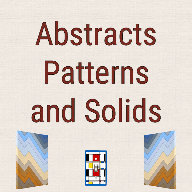 Abstracts Patterns & Solids