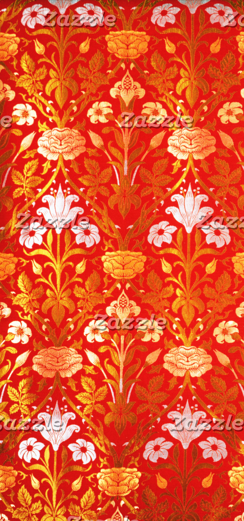 William Morris Lily and Rose Pattern