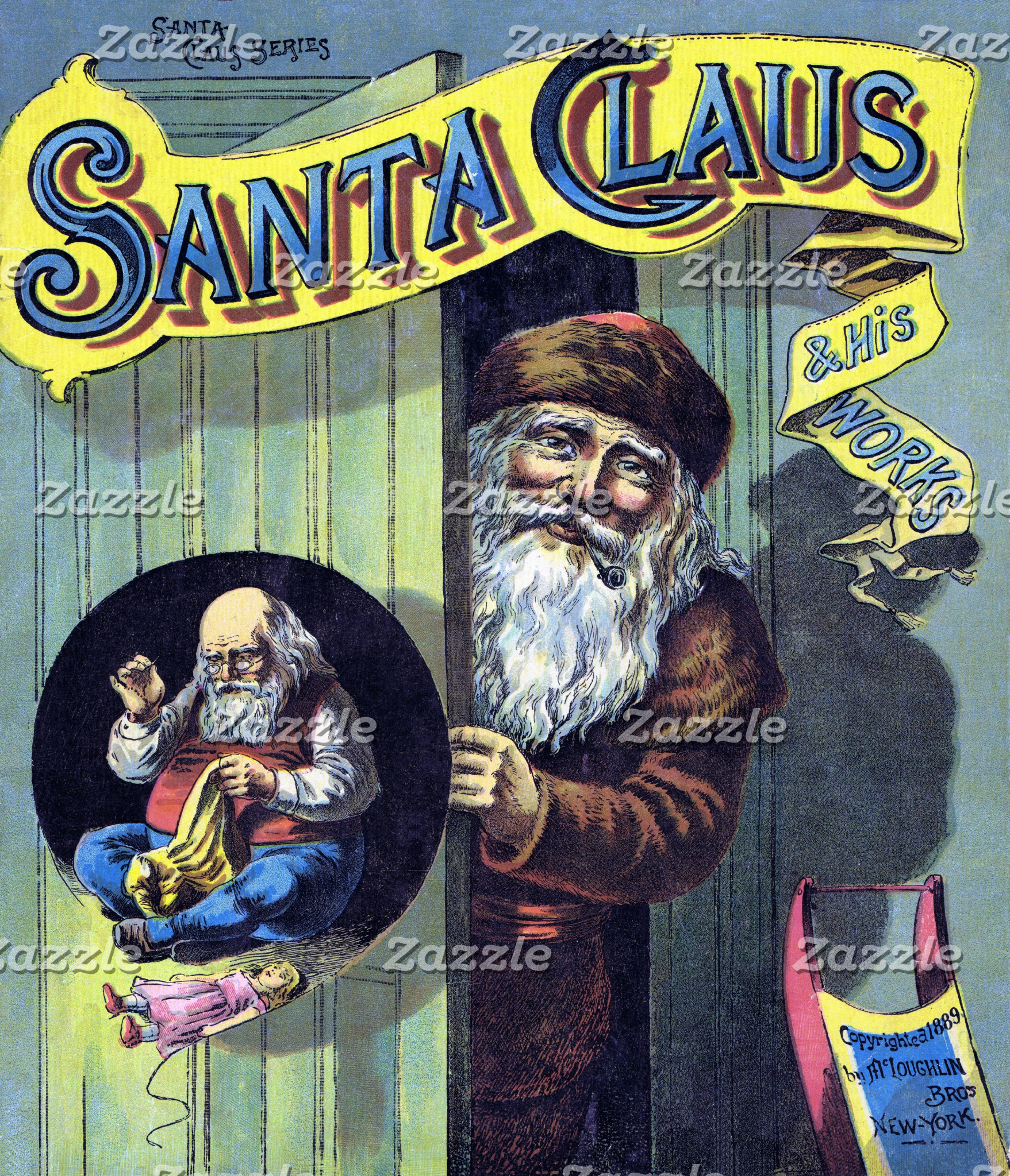 Santa Claus and His Works Book Art
