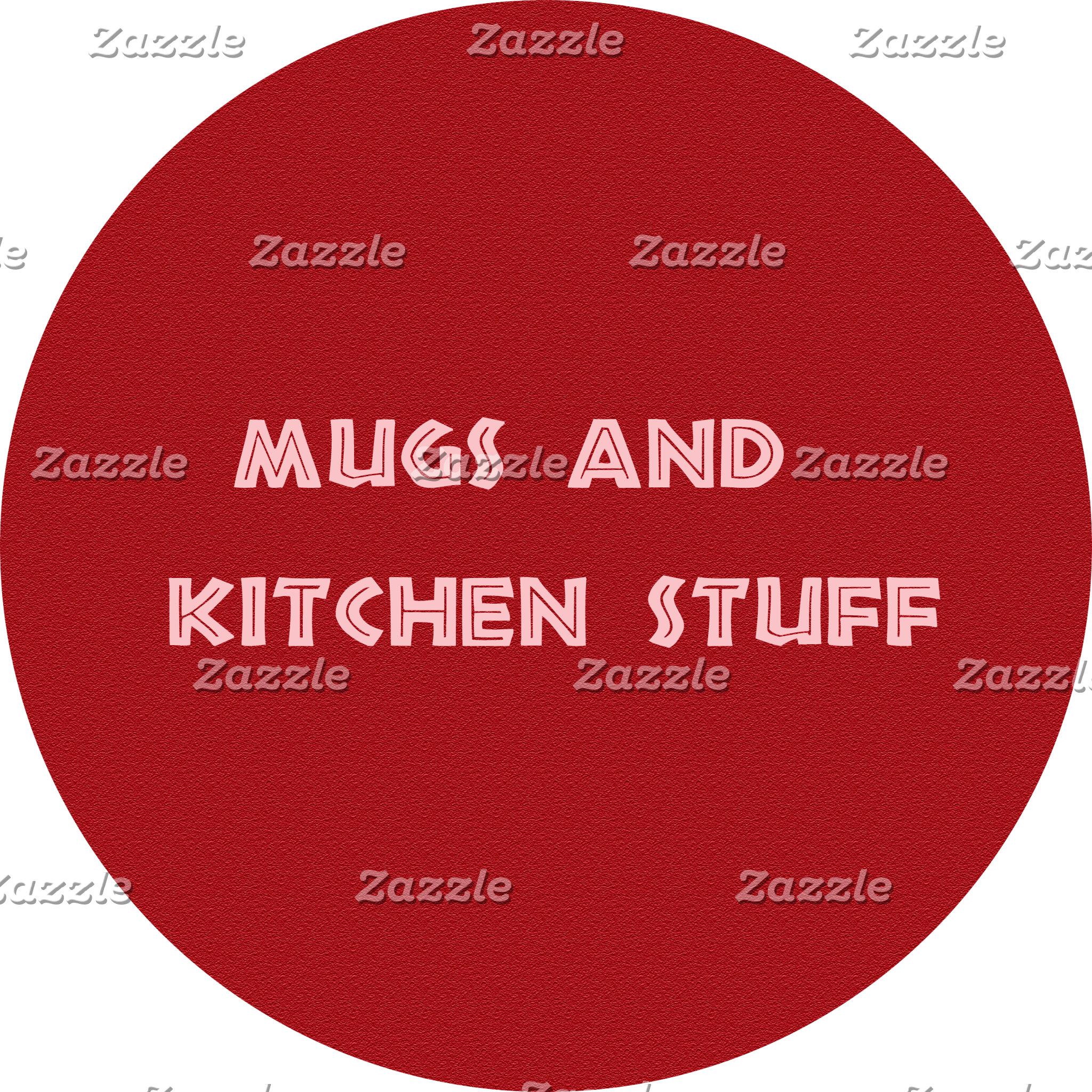 Mugs and kitchen stuff
