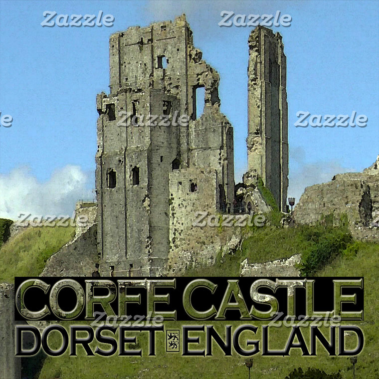 Corfe Castle England