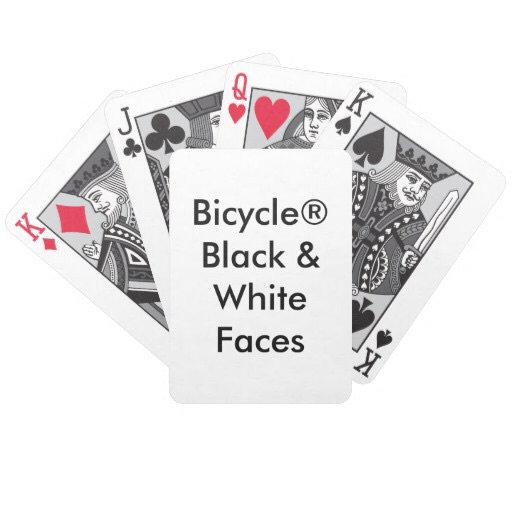 Bicycle® Black & White